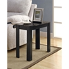 Allegro Side Table - Gray Top, Black Finished Legs - MNRH-I-3112