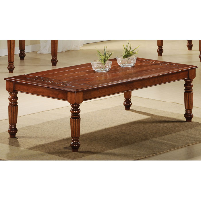 Patience 3 Piece Traditional Coffee Table Set - Dark Oak - MNRH-I-1225