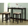 Wisdom Counter Height Table - Wood, Cappuccino Finish - MNRH-I-1359