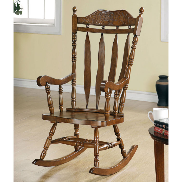 Freedom Rocking Chair - Arrow Back, Dark Walnut