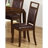 Redemption Side Chair - Brown, Tapered Legs (Set of 2) - MNRH-I-1936