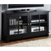 Frampton 48'' Corner TV Console - Midnight Black Finish - MNRH-I-3540
