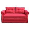 Lucca Fabric Sofa Bed - Red - NSI-481512R