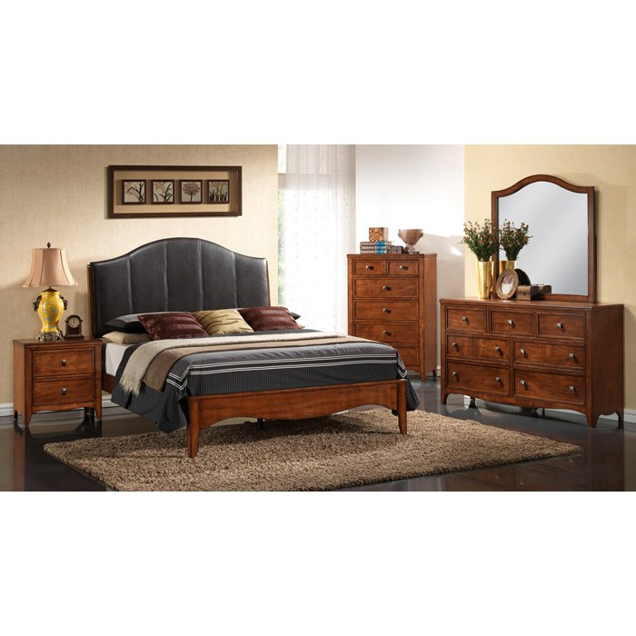 Bedroom Furniture Auckland: Hardwood, Antique Oak Finish