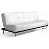 Swell Beck Modern Convertible Sofa Tufted White Uwap Interior Chair Design Uwaporg