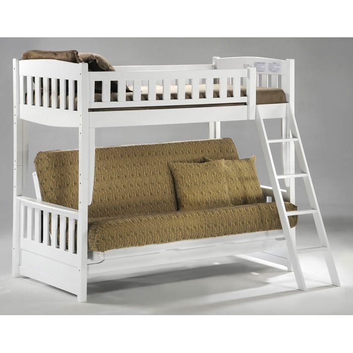 Cinnamon Twin Over Full Futon Bunk Bed Dcg Stores