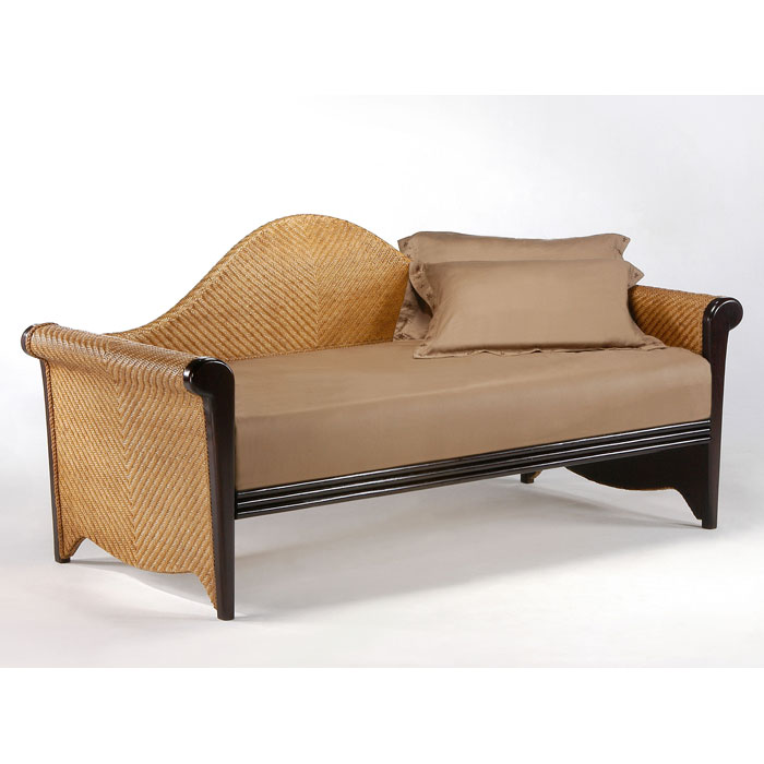 rosebud rattan daybed dcg stores. Black Bedroom Furniture Sets. Home Design Ideas