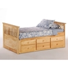 Ginger Captain's Bed - NDF-GINGER