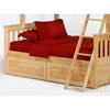 Ginger Full Over Full Bunk Bed - NDF-GIN-FULFUL