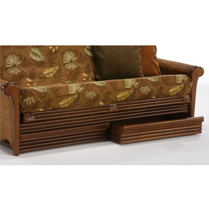 Orchid Rattan Futon Frame - NDF-ORCHID-HG