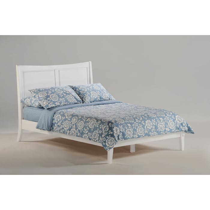 Saffron Bed in White - NDF-SAFFRON-WH