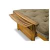brentwood futon set  heritage designer mattress made in usa  -  brentwood futon set  heritage designer mattress made in usa nfbrnt
