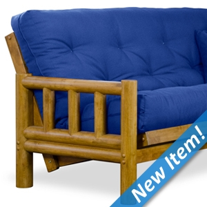 Tahoe Log Futon Frame Herage Finish