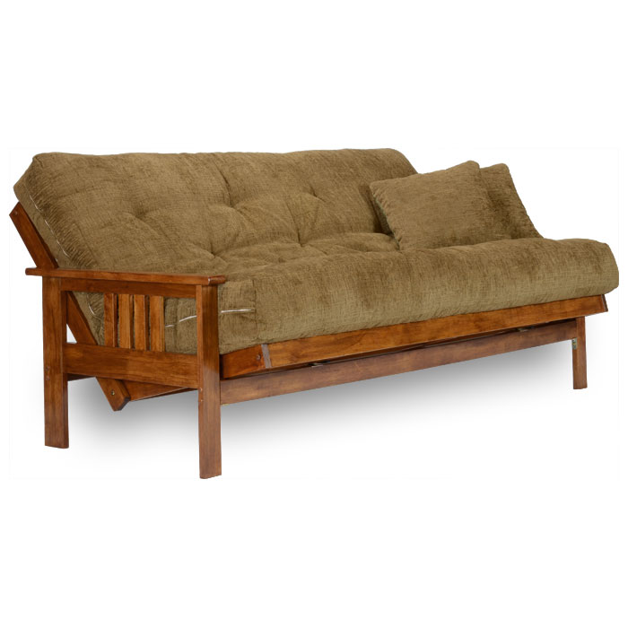 Stanford Wood Futon Frame Heritage Finish Nf Sfrd