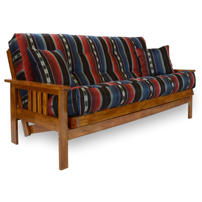 Stanford Wood Futon Frame   Heritage Finish   NF SFRD ...