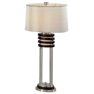 Kobe Oval Table Lamp with Night Light (Set of 2)