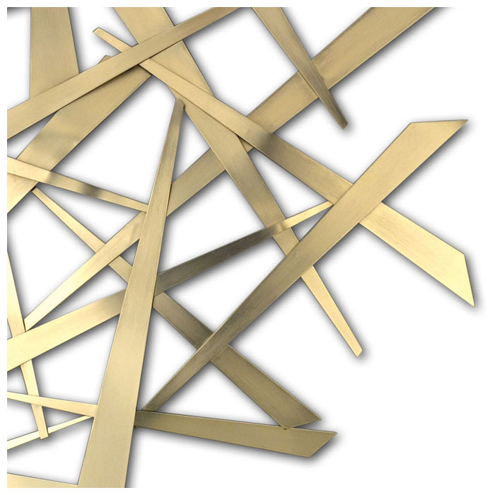 Criss Cross Wall Art - NL-10332