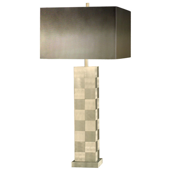 Times Squared Checkered Table Lamp - NL-1065X