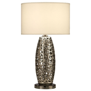 Birds Nest Oval Table Lamp