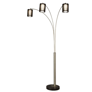 Steccia 3-Light Arc Lamp