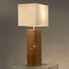 Rift Bamboo Standing Table Lamp - NL-11630