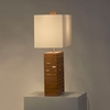Rift Bamboo Reclining Table Lamp - NL-11681
