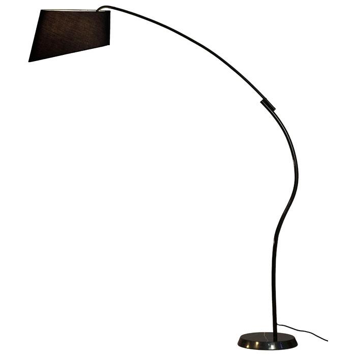 ibis modern arc floor lamp dcg stores. Black Bedroom Furniture Sets. Home Design Ideas