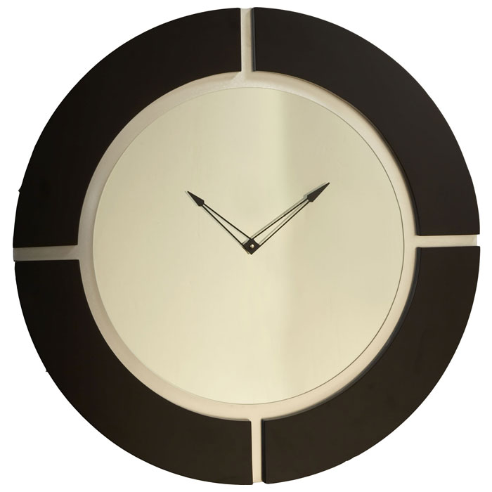 Quarter Master Mirror Clock