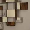 Angles Wall Art with Mirror Accents - NL-11827