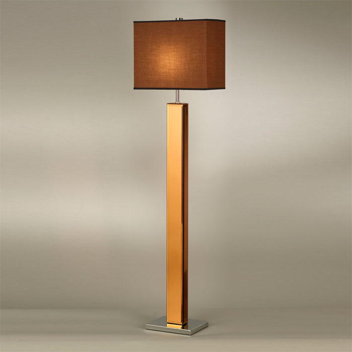 Hepburn Floor Lamp in Brown