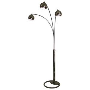 Triplet 3-Light Arc Lamp