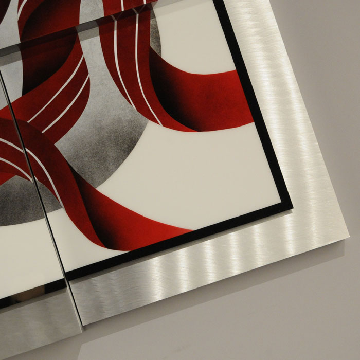 Square Ribbons Wall Graphic - NL-WG3636