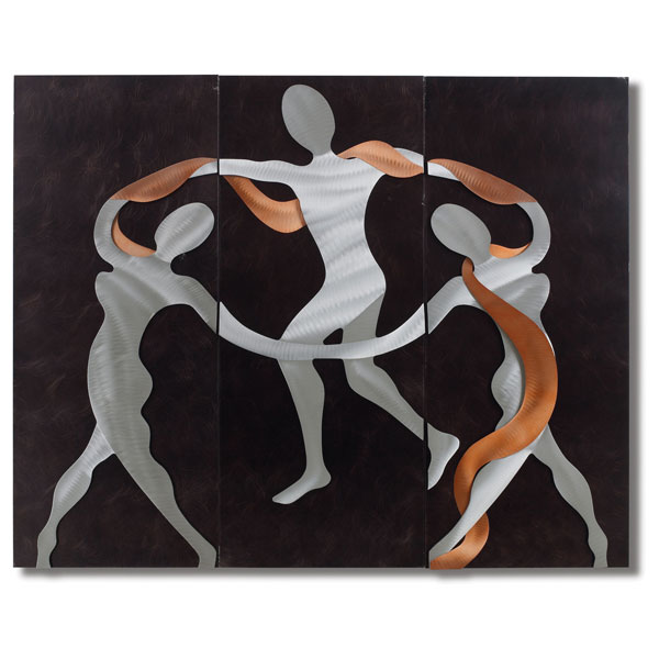 Scarf Dance 3-Piece Wall Graphic