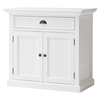 Halifax Medium Buffet Table - Pure White - NSOLO-B180