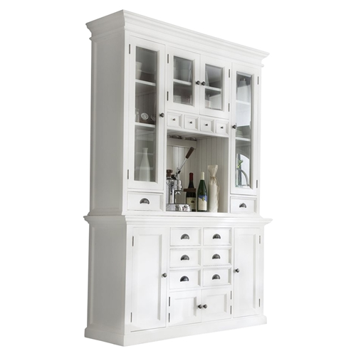 Halifax Kitchen Hutch Unit Pure White Dcg Stores