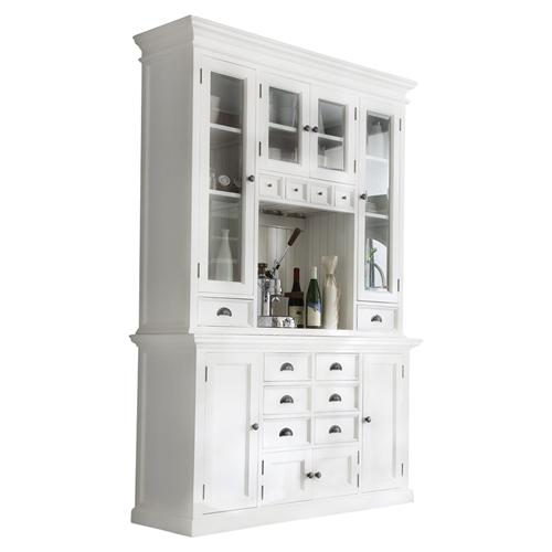 Halifax Kitchen Hutch Unit Pure White Dcg Stores