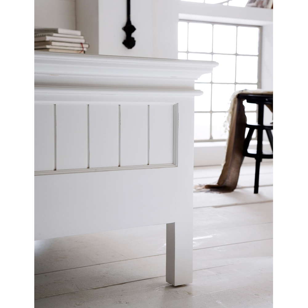 Halifax King Bed Pure White Dcg Stores