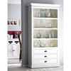 Halifax Bookcase - Pure White - NSOLO-CA580