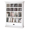 Halifax Medium Entertainment Storage Unit - Pure White - NSOLO-CA582