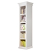 Halifax Bookshelf - Pure White - NSOLO-CA591