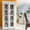 Halifax Double Vitrine - Pure White - NSOLO-CA595