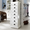 Halifax 7-Drawer Storage Tower - Pure White - NSOLO-CA598