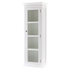 Halifax Single Vitrine - Pure White - NSOLO-CA602