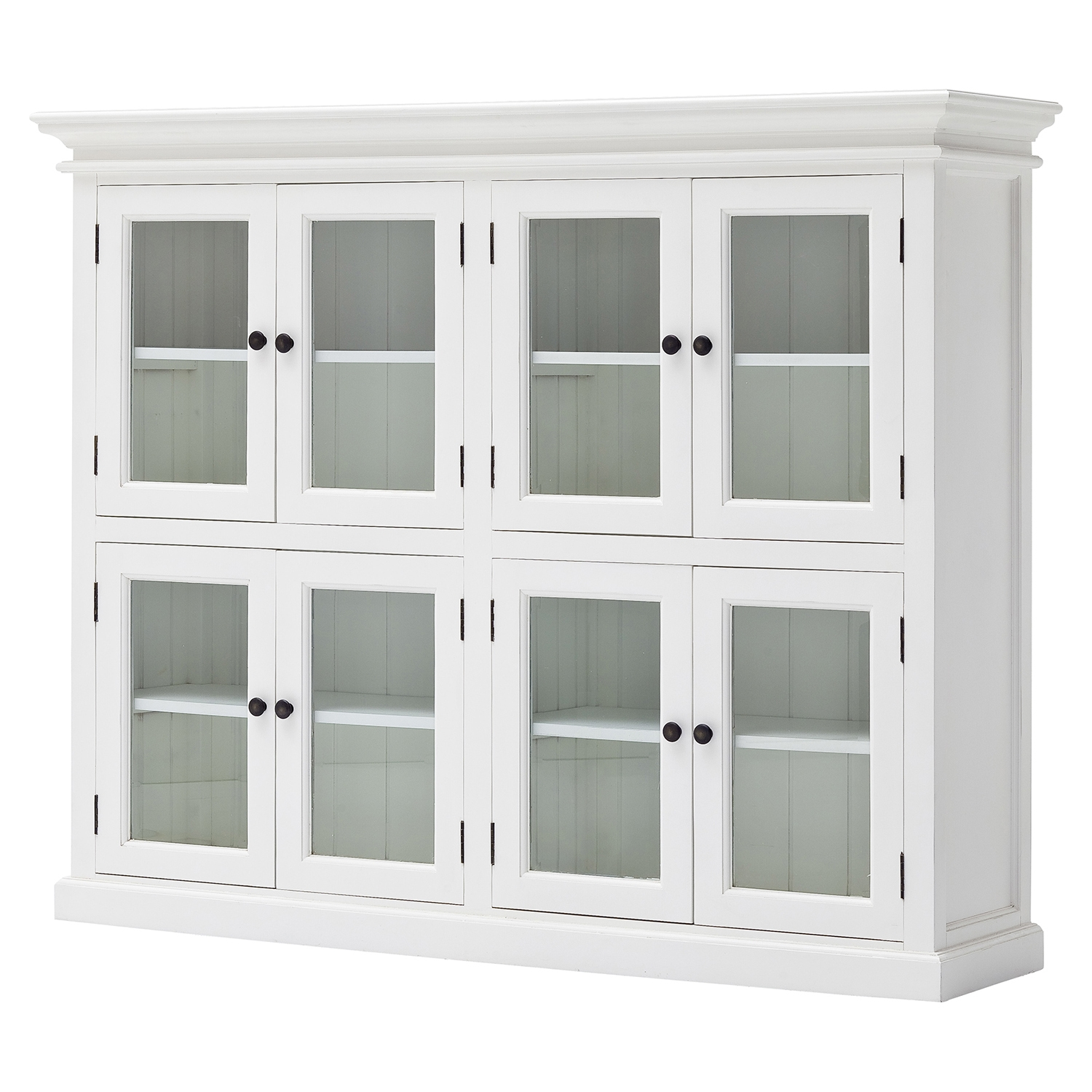 Halifax Pantry 8 Doors - Pure White - NSOLO-CA615
