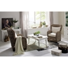 Wickerworks Queen Chair with Cushions - Natural Gray - NSOLO-CR42