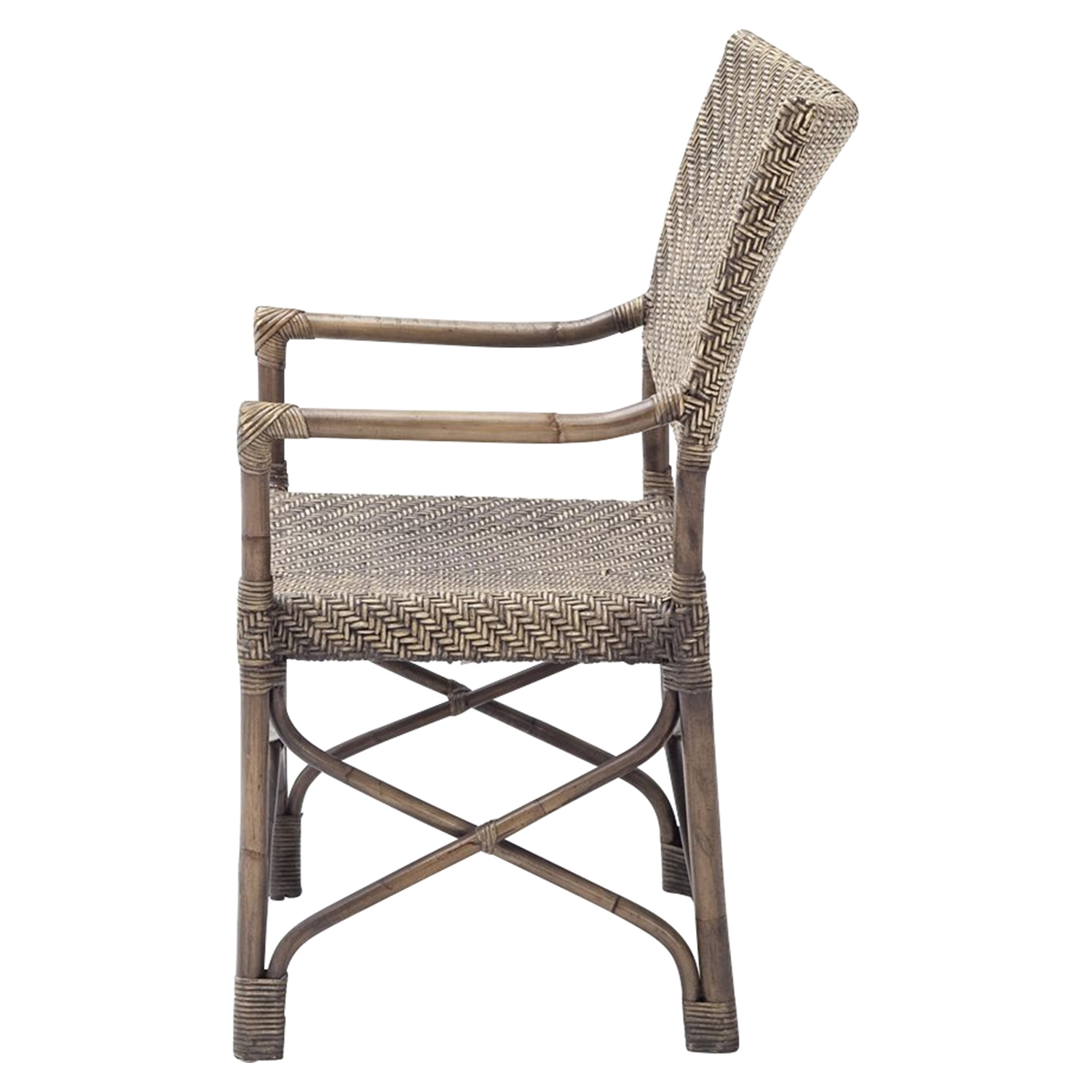 Wickerworks Squire Chair - Natural Rustic (Set of 2) - NSOLO-CR47