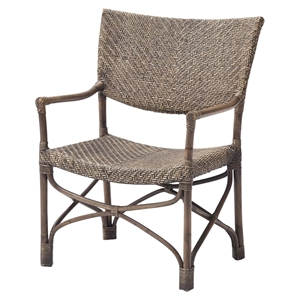 Wickerworks Squire Chair - Natural Rustic (Set of 2)
