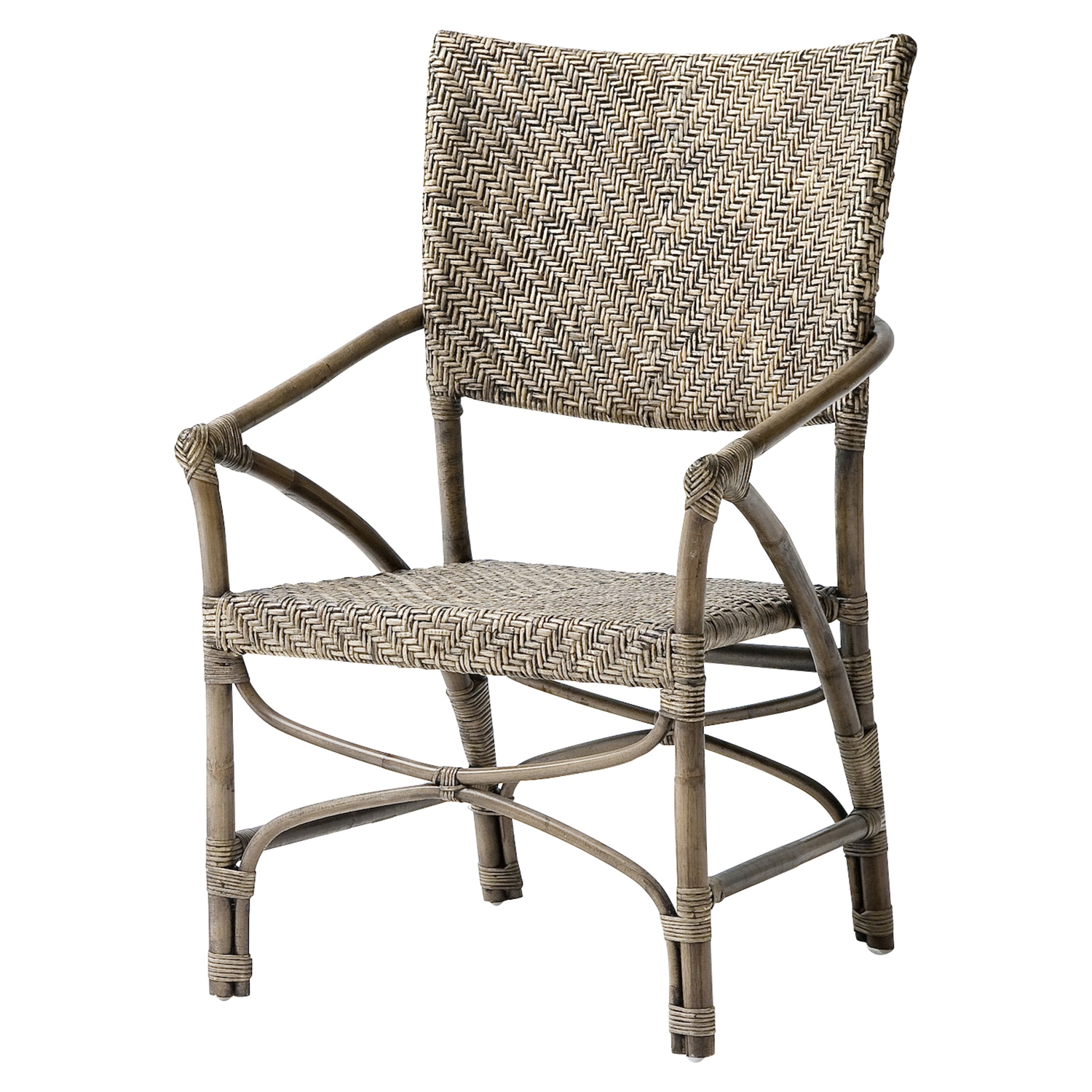 Wickerworks Jester Chair - Natural Rustic (Set of 2) - NSOLO-CR48