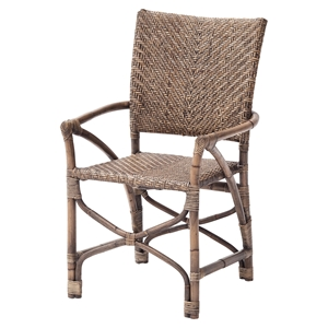 Wickerworks Countess Chair - Natural Rustic