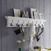 Halifax 8-Hook Coat Rack - Pure White - NSOLO-D161